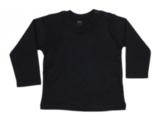 Babybugz shirt lange mouw zwart _