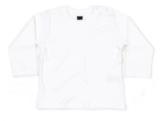 Babybugz shirt lange mouw wit_