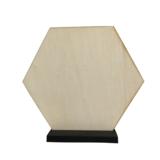 Hexagon 18 cm_