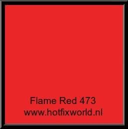 473 Politape  flame red 20x25cm H/165/17