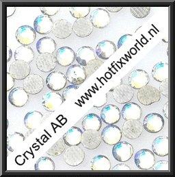 Rhinestones ss10 Crystal ab