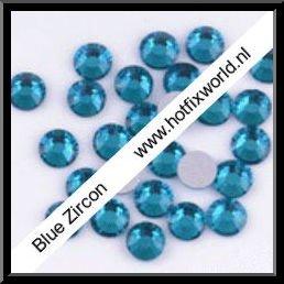 Rhinestones ss10 Blue zircon