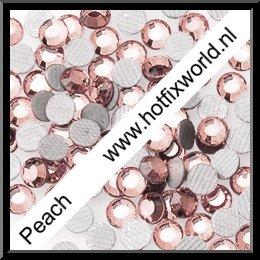 Rhinestones ss6 Peach