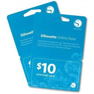 Silhouette Downloadcard 10$