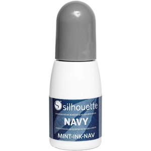 Silhouette Mint inkt Navy
