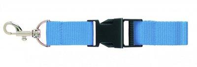 Keycord licht blauw