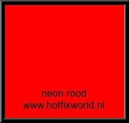 Vinyl Glans Neon Rood 30x20cm