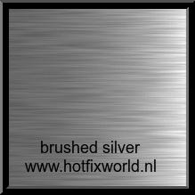 Vinyl Brushed Silver 20x25cm