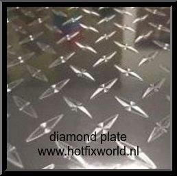 Vinyl Diamond Plate 20x25cm
