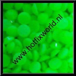 Resin ss10 neon groen 500 stuks