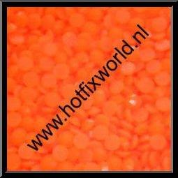 Resin ss10 neon oranje 500 stuks