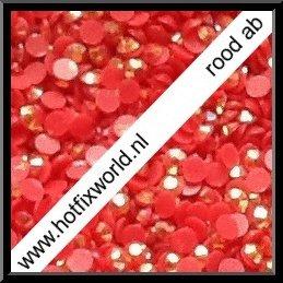 Resin ss6 rood AB 1000 stuks