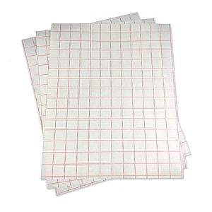 Transfer sheets voor stencil sheet