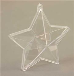 Plastic ster 10cm