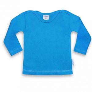 Funnies baby shirt turquoise 50-56 lang