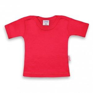 Baby shirt fuchsia 62-68 kort