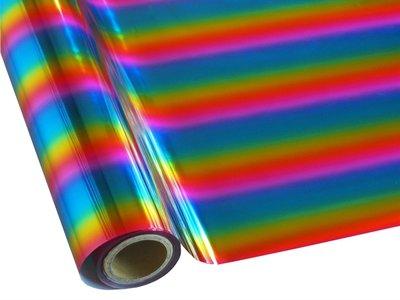 Hot stamp foil Rainbow100x30cm