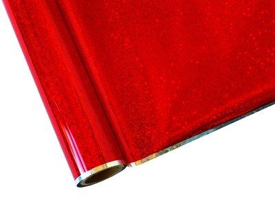 Hot stamp foil Glitter red 100x30cm