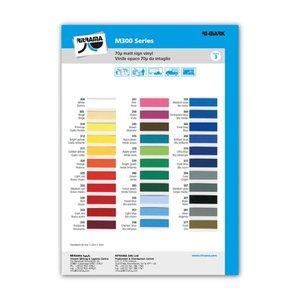 Kleurenkaart Ritrama vinyl mat