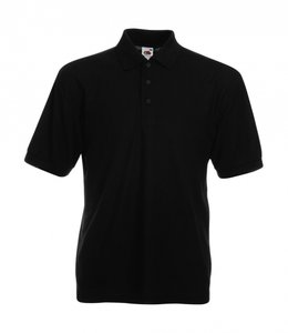 Heren polo zwart 65/35