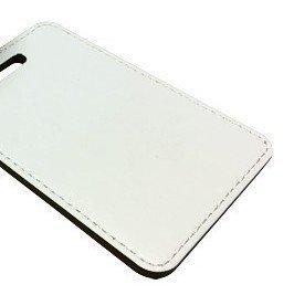 Sublimatie koffer label 100mm x 70mm