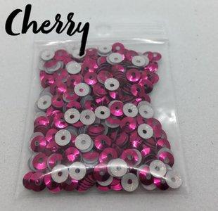 Cherry hotfix pailletten 4mm