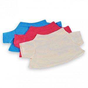 T-shirt ecru voor knuffels  30-37 cm