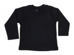 Babybugz shirt lange mouw zwart