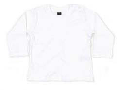 Babybugz shirt lange mouw wit