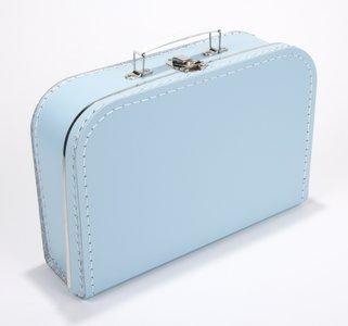 Kinderkoffertje licht blauw 25cm