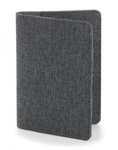 Paspoortmapje grey