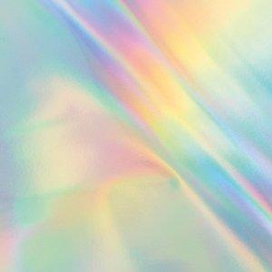 Foil Silver iridescent finish