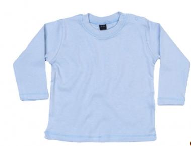 Babybugz shirt lange mouw dusty blue
