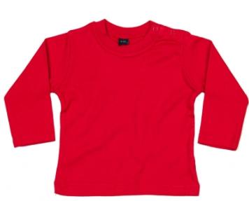 Babybugz shirt lange mouw red