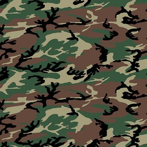 Siser easy patterns camouflage green