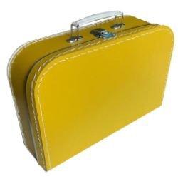 Kinderkoffertje oker 30cm