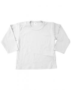 Baby shirts lange mouwen wit