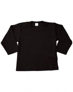 Baby shirts lange mouwen zwart