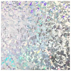 Siser Holographic silver crystal
