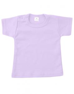 Baby shirts korte mouwen lila