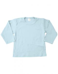 Baby shirts lange mouwen licht blauw