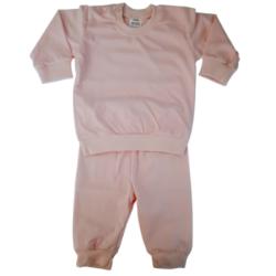 Baby pyjama licht roze