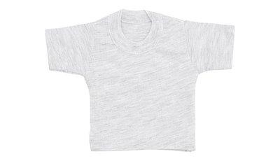 mini shirt grey heather no label