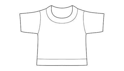 mini shirt white no label