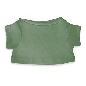 T-shirt licht licht stone green  voor knuffels  45-47cm