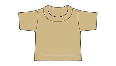 mini shirt khaki no label