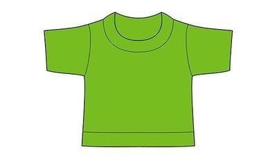 mini shirt lime no label