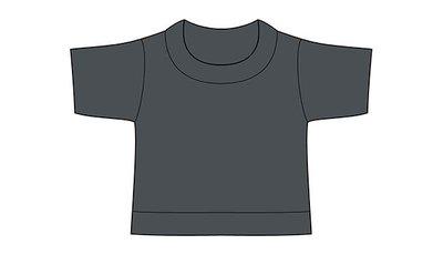 mini shirt charcoal merkloos
